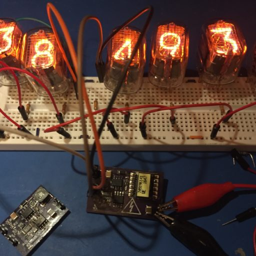 Nixie Tube Power Supply