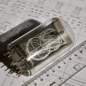 National NL7037 Nixie Tube