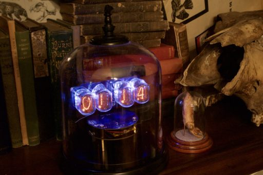 Gothic IN-12 Nixie Clock