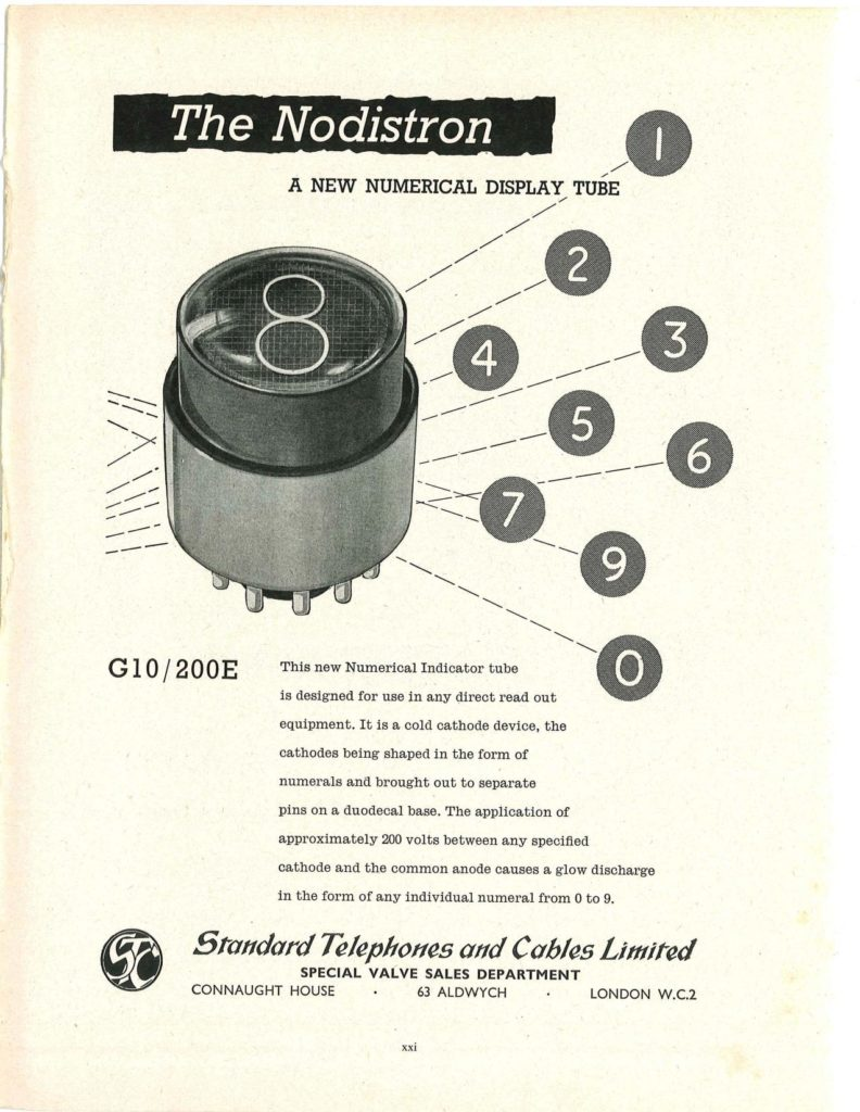 Nodistron G10/200E advert