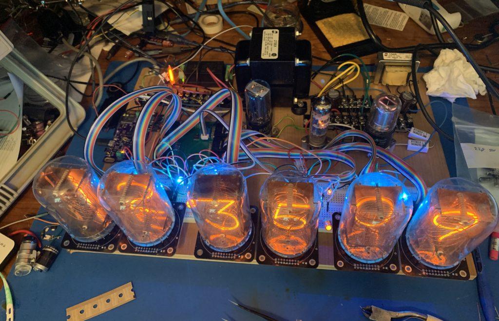 NL7037 Clock Prototype