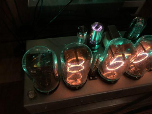 NL7037 Nixie Clock