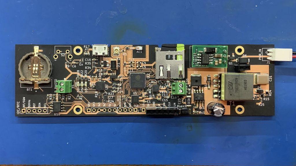 ESP32 Nixie Clock Main Board
